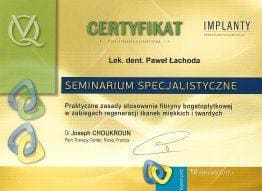 Lachoda-certyfikat-fibryna