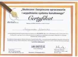 certyfikat-ars