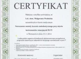 certyfikat-stomed